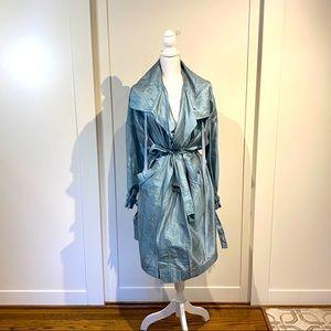 Ann Kline trench coat
